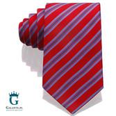 Czerwony krawat jedwabny Arcuri 1413-5