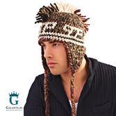 Zimowa czapka irokez męska C-93151