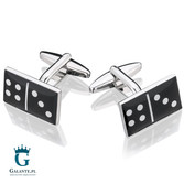 Domino - spinki do mankietów X2