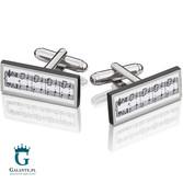 Muzyczne spinki do mankietów UE-2608