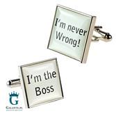 Spinki dla szefa - The Boss