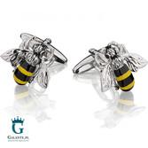 Pszczółki spinki do mankietów SD-1376