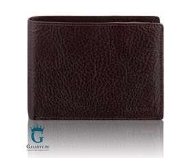 Bezpieczny portfel męski RFID ze skóry 159-137