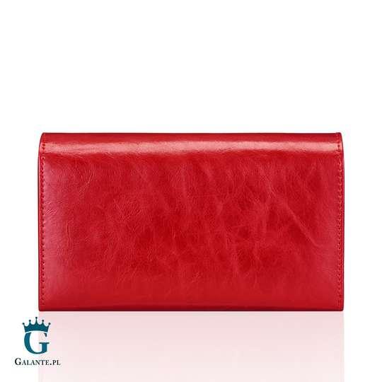 Czerwony Portfel Damski Peterson PL466 Red