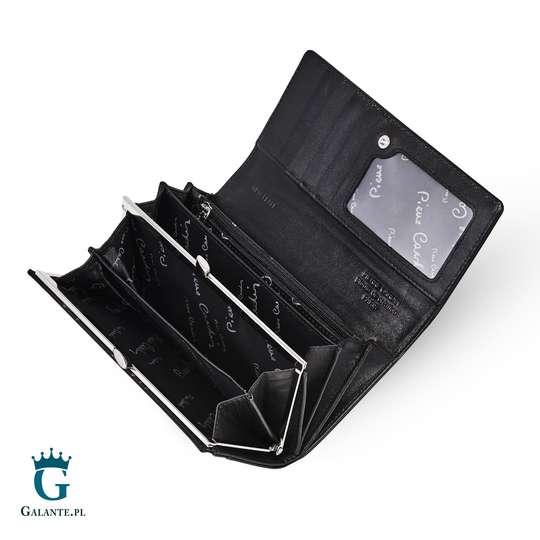 Damski portfel Pierre Cardin Klasyczny Duży na zatrzask 05 LINE 100