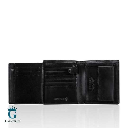 Duży Portfel Męski Black&Red Peterson 301-01 RFID