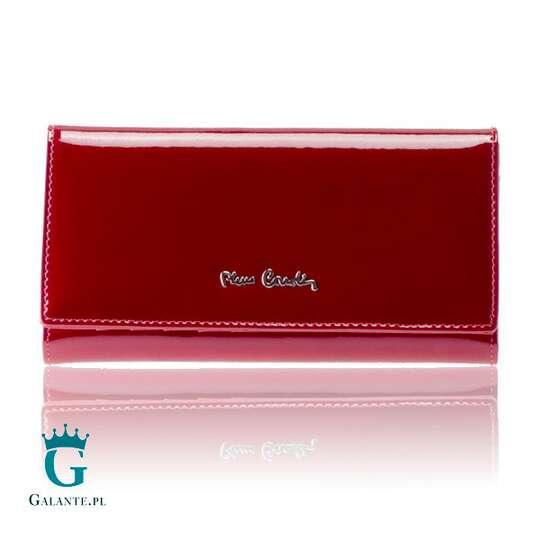Duży portfel Pierre Cardin zapinany na zatrzask 05 LINE 114