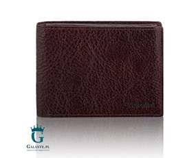 Elegancki portfel męski RFID, bezpieczne karty płatnicze 159-290