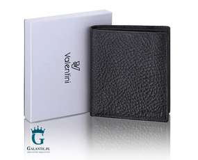 Elegancki portfel męski skórzany RFID Valentini 159-665
