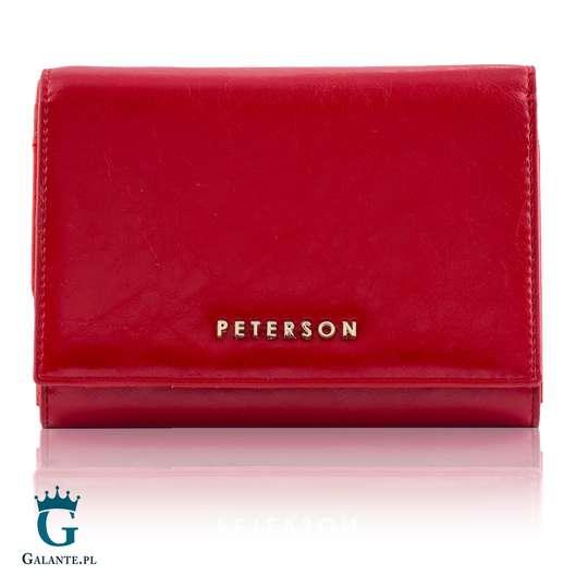 Klasyczny Portfel Damski PETERSON PL445