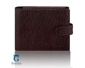 61cd2d06ae15d Klasyczny portfel męski zapinany na zatrzask RFID Valentini 159-293