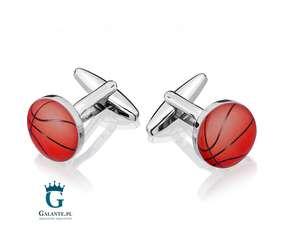 Koszykówka - piłki spinki do mankietów