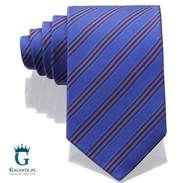 Krawat jedwabny niebieski Arcuri 14813-3