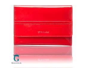 Lakierowany portfel damski Valentini Like a Diamond 154L-P62