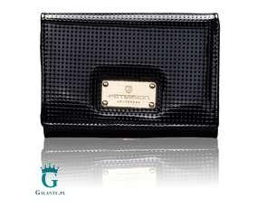 Mały portfel damski ze skóry perforowanej PETERSON PD445