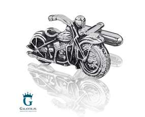 Motory spinki do mankietów dla motocyklisty