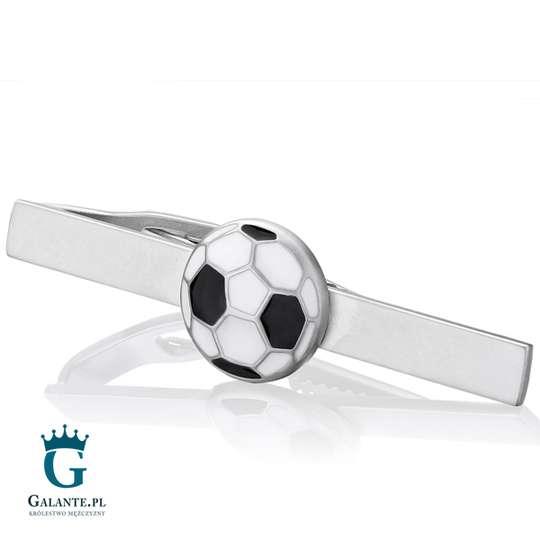 Piłka nożna - spinka do krawata