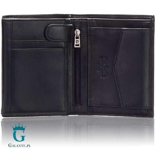 Pionowy portfel męski Pierre Cardin TILAK09 326 z RFID