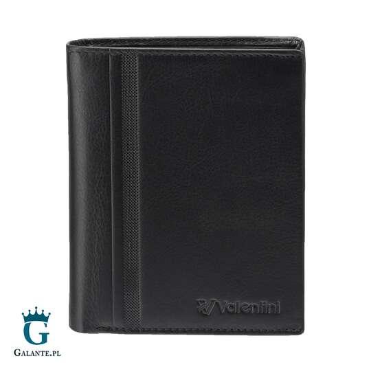 Pojemny portfel męski Valentini Trophy 15V-282 RFID