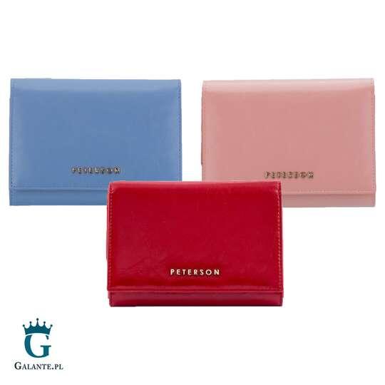 Portfel damski PETERSON PL445 różne kolory