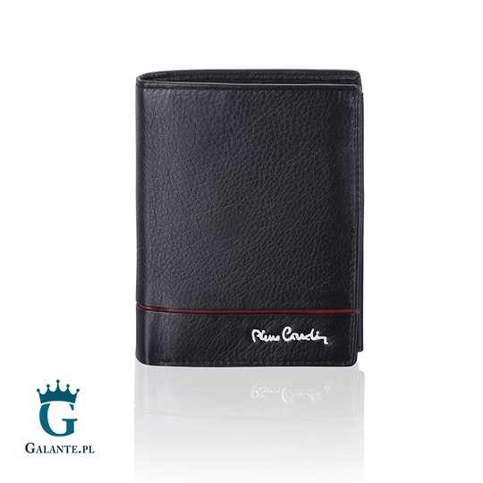 Portfel męski Pierre Cardin TILAK15 326 RED RFID Sahara