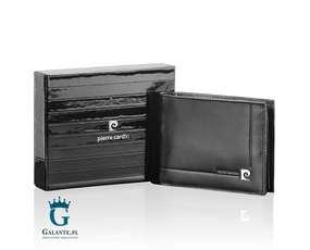 Poziomy portfel męski Pierre Cardin