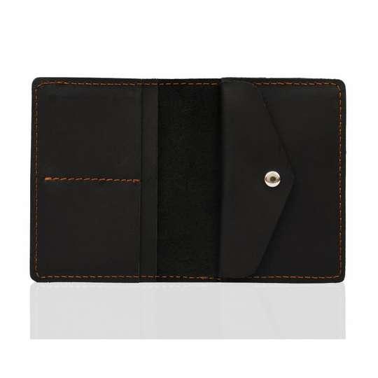Skórzany Cienki Portfel Slim Wallet Brodrene SW-01 (1)