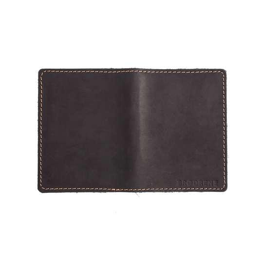 Skórzany Cienki Portfel Slim Wallet Brødrene SW-01