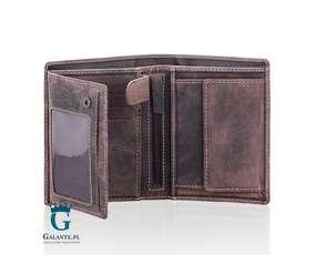 Skórzany portfel męski Hunter V-0709