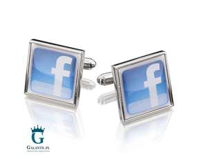 Spinki do mankietów Facebook