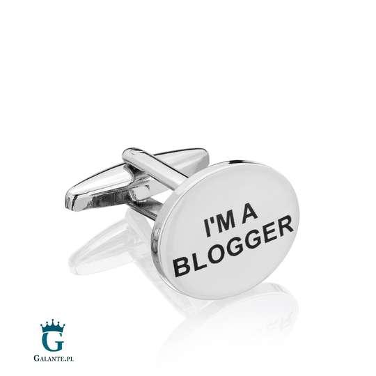Spinki do mankietów X2 Trust me I'am Blogger BOCO066