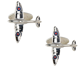 Srebrne spinki do mankietów Samoloty, SDs-1149