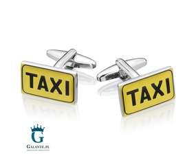 Taxi - spinki do mankietów