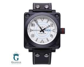 Zegarek Rubicon RN10B41 bn z białą tarczą