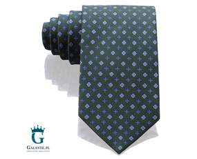 Zielony krawat jedwabny Arcuri 14828-7