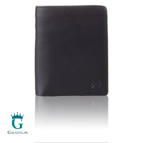 b1457dd764014 Duży czarny portfel męski Tumble   Hide 2019-17 RFID