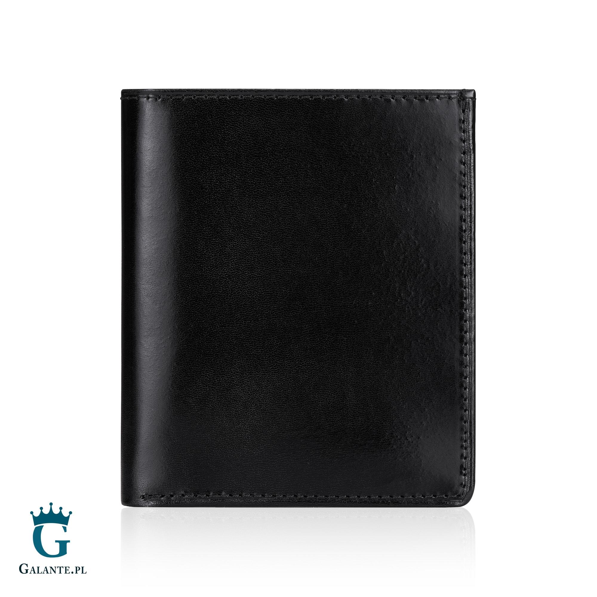 7581e48b3cd7e Pionowy portfel skórzany z ochroną RFID 304M. ‹ ›