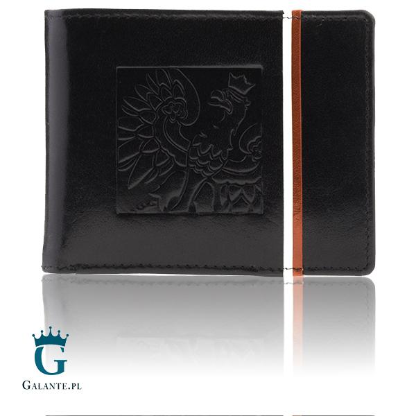 5bedc275d25d0 Mały portfel męski patriotyczny PETERSON