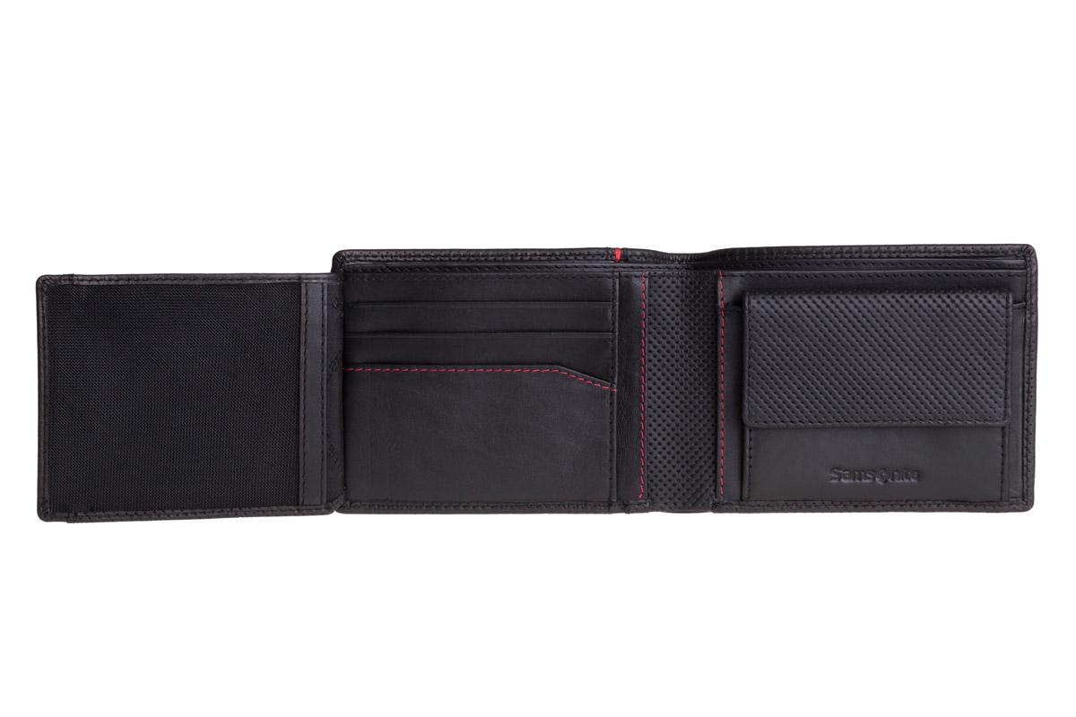 62a038fefc15c Duży skórzany portfel męski Samsonite 13A-137 RFID