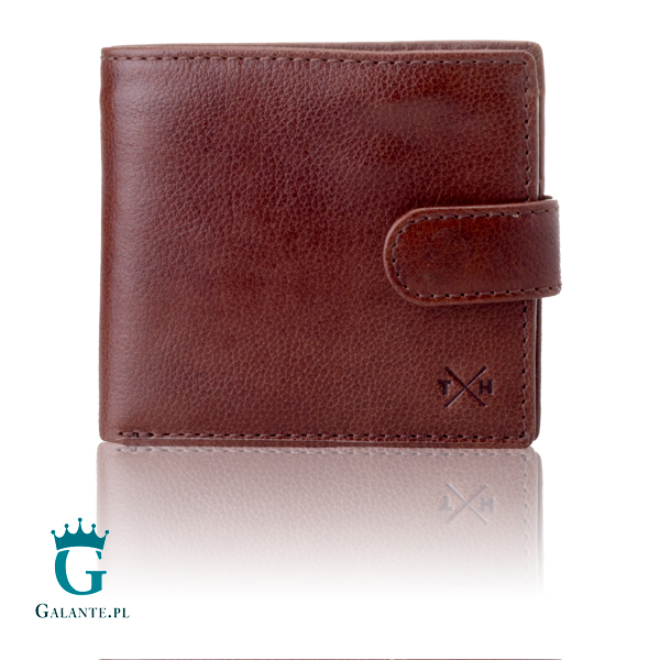 6ffd4696196fc Klasyczny skórzany portfel męski Tumble   Hide z RFID