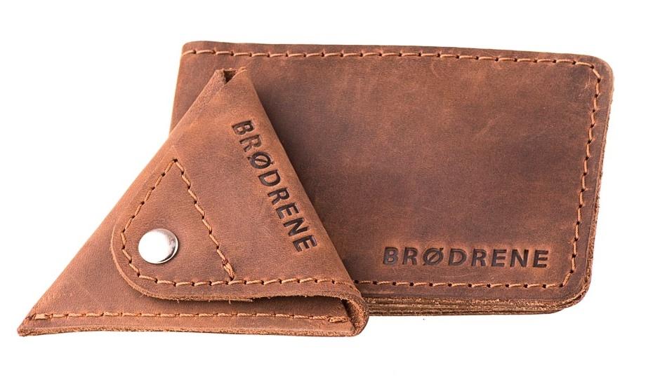 0f86531c253d6 Skórzany Cienki Portfel Slim Wallet Brodrene z Bilonówką SW02+CW01 ...